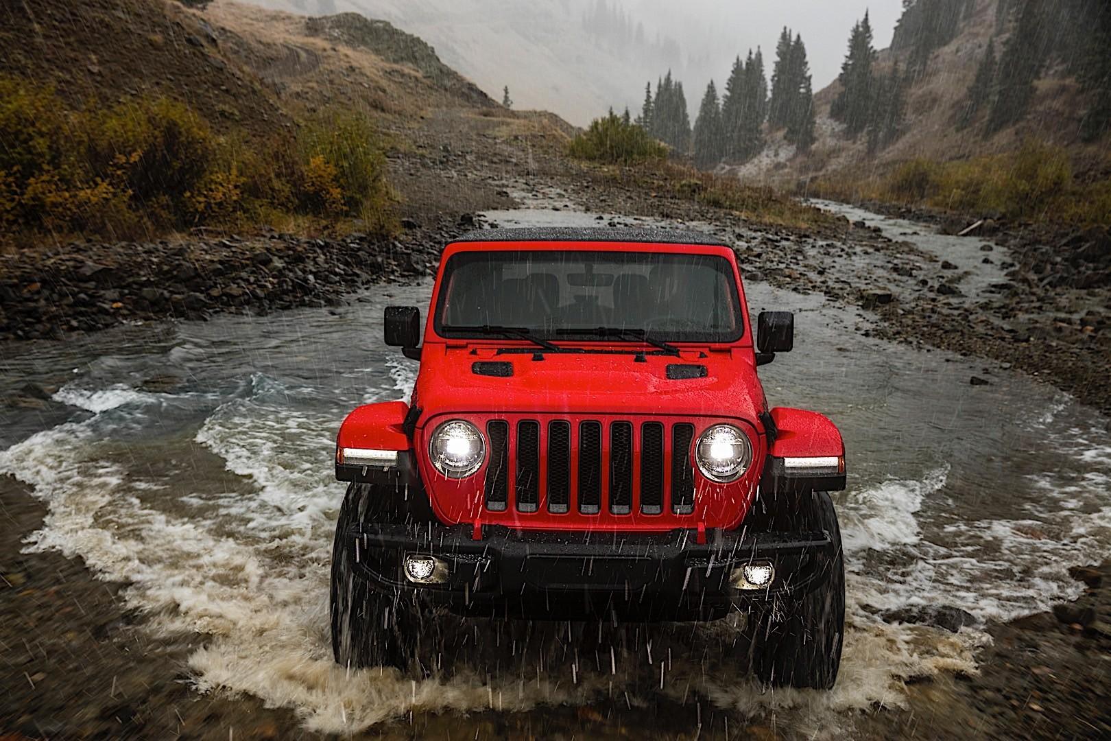 Jeep Wrangler crash test a sorpresa, si Ribalta 2 Volte
