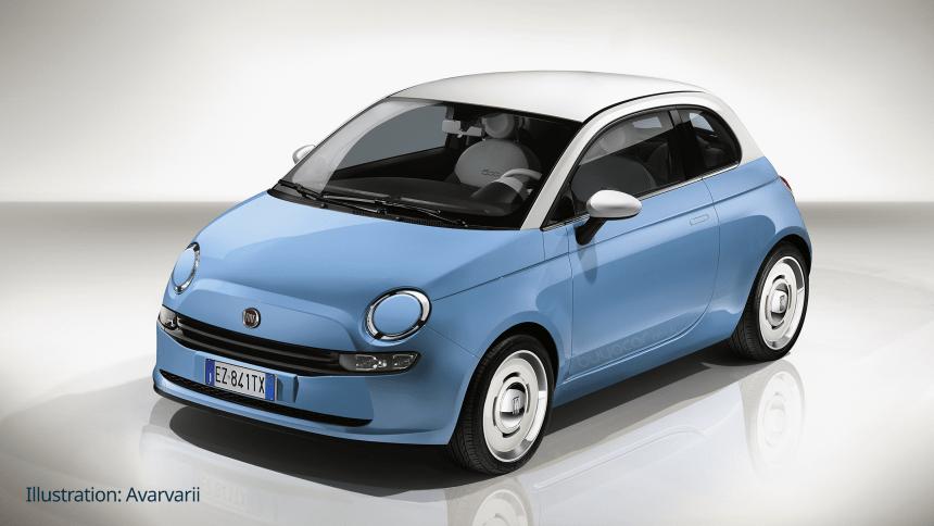 Nuova Fiat 500 2020  Ibrido 12v In Attesa Dell U0026 39 Elettrica