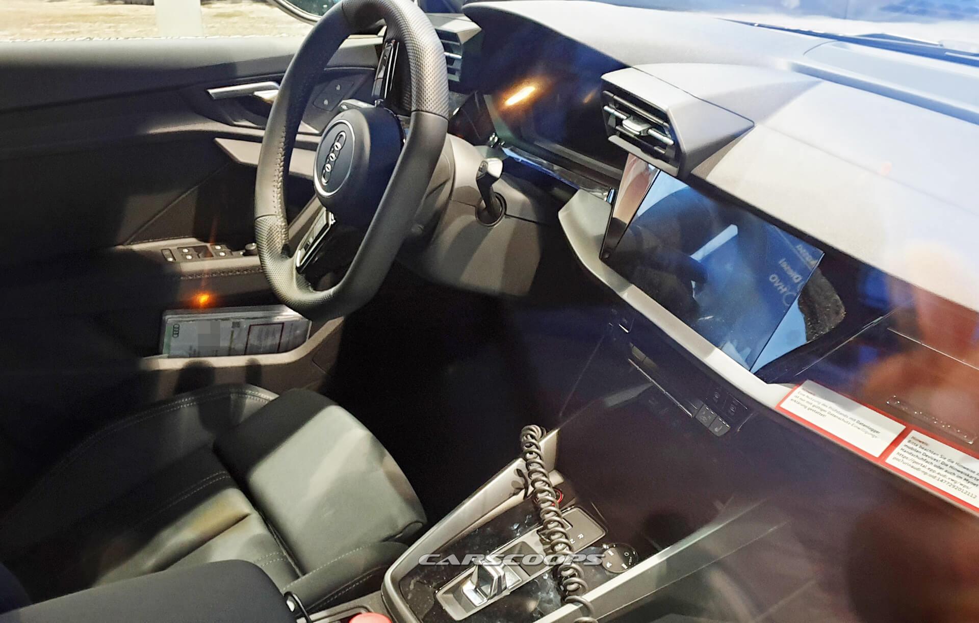 Nuova Audi A3 S3 2020, gli interni in Anteprima Mondiale