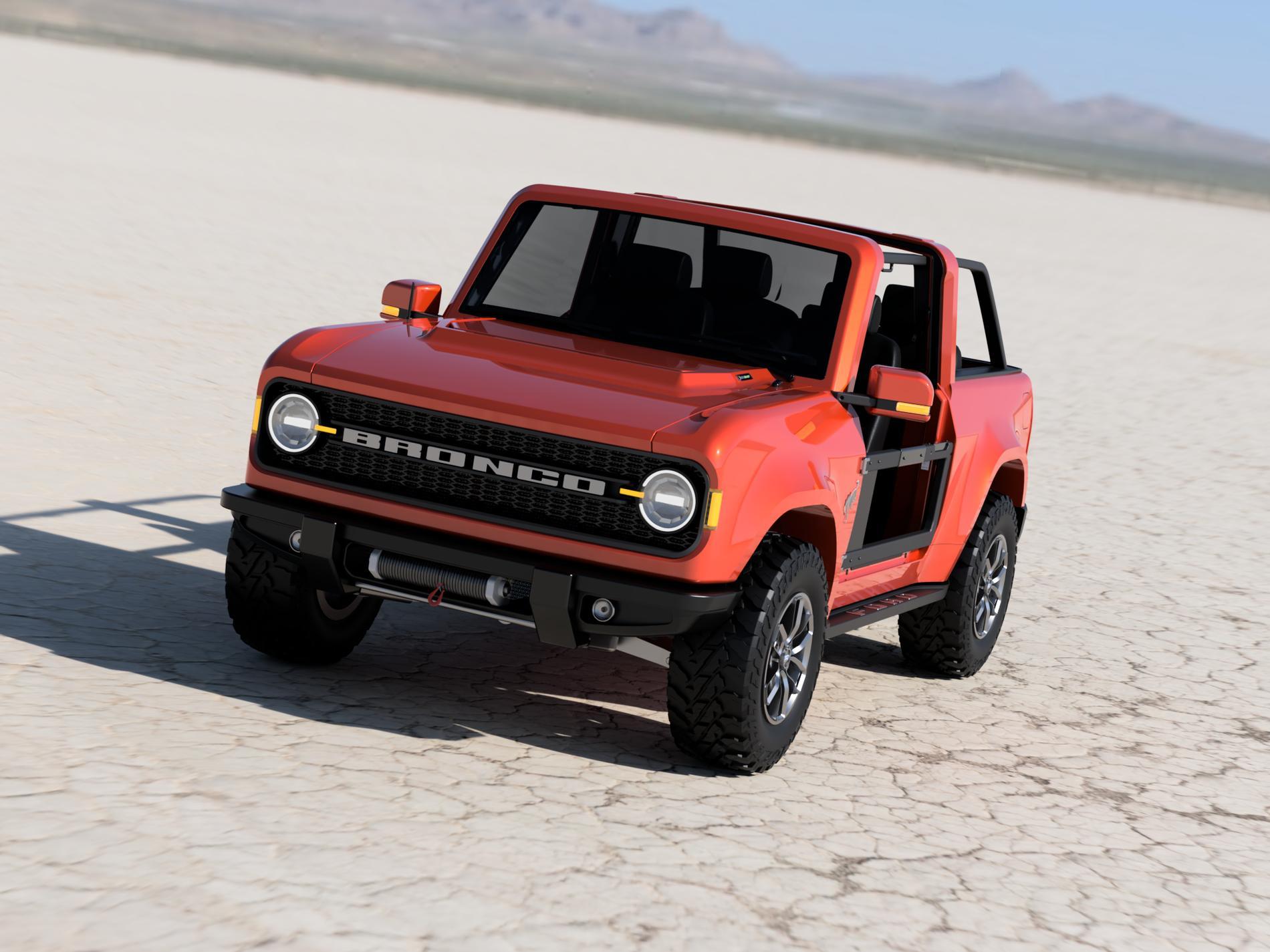Jeep Wrangler VS Ford Bronco, il report segreto di FCA