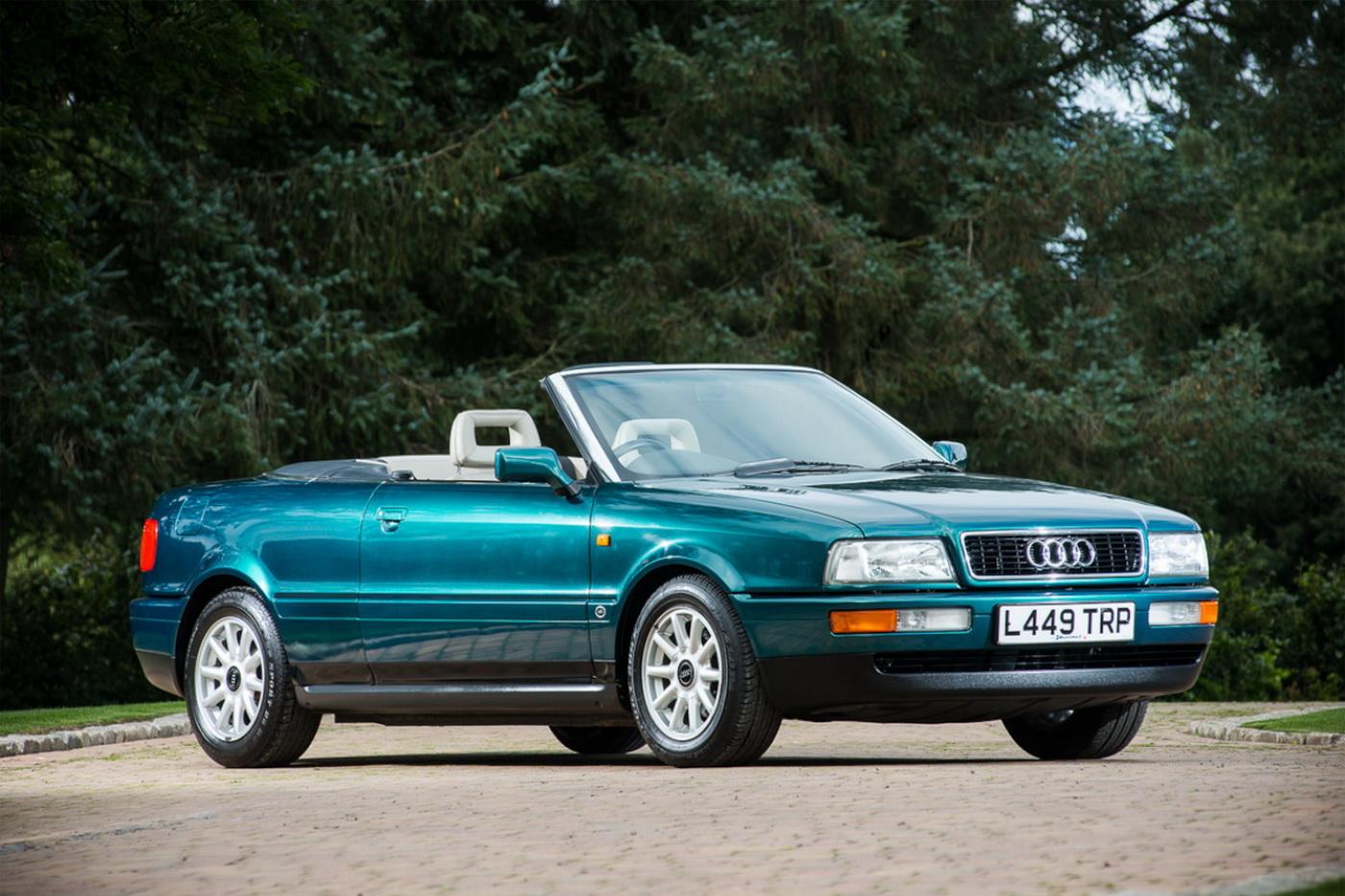 Royal Family, all'asta l'Audi 80 Cabriolet di Lady Diana