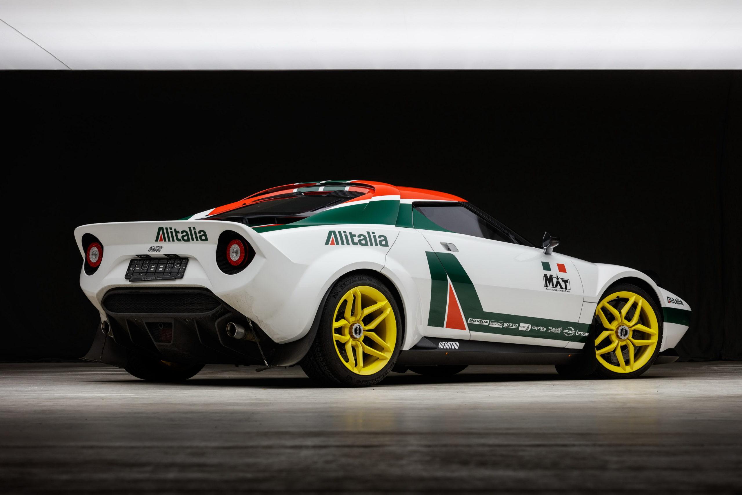 All'asta la Lancia Stratos su base Ferrari 430, Prezzo Record!