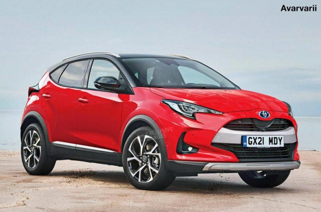 Nuova Toyota Yaris SUV 2020, eccola in Anteprima rendering