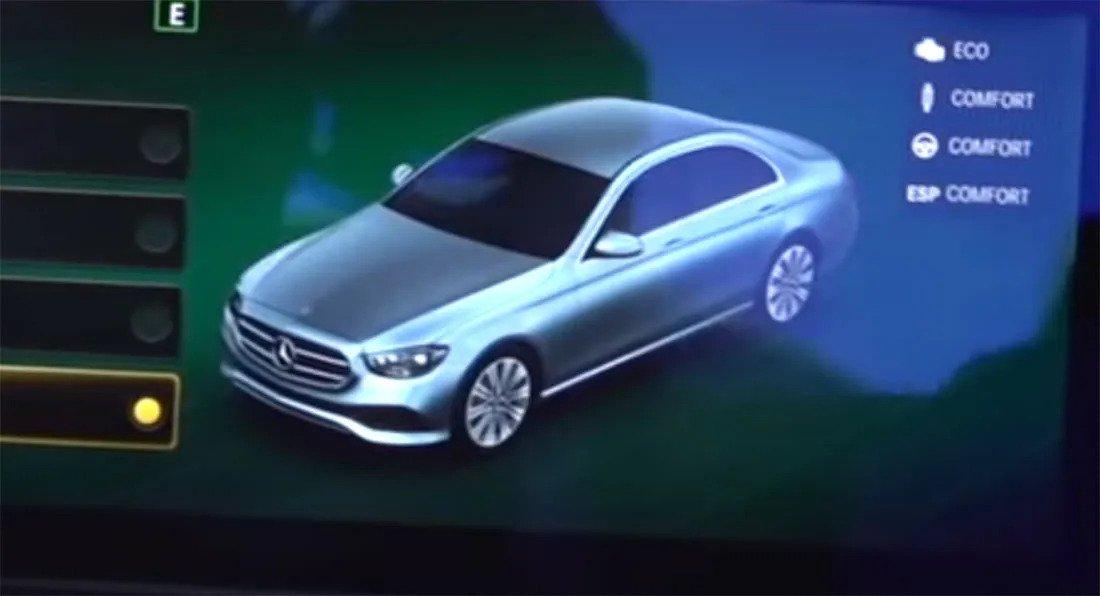 Nuova Mercedes-Benz Classe E 2020, foto in Anteprima mondiale