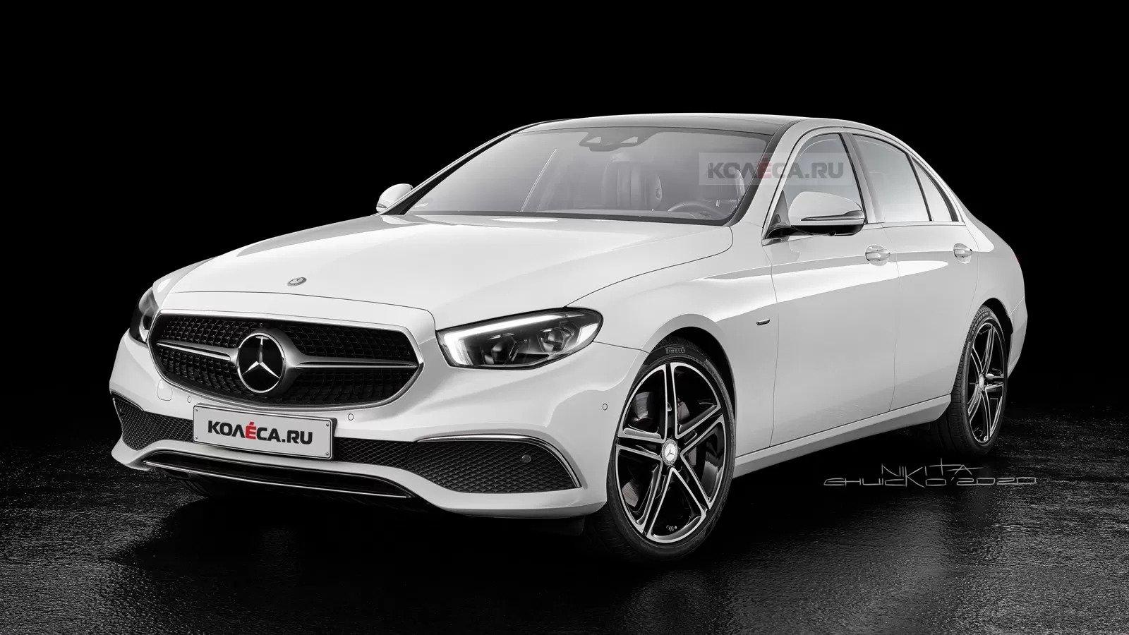 Nuova Mercedes-Benz Classe E 2020, il Rendering svela il Design in Anteprima