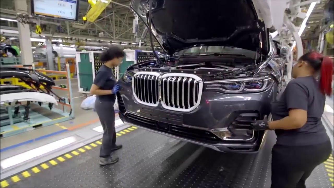 BMW record di produzione negli Usa grazie ai SUV X3, X5 e X7