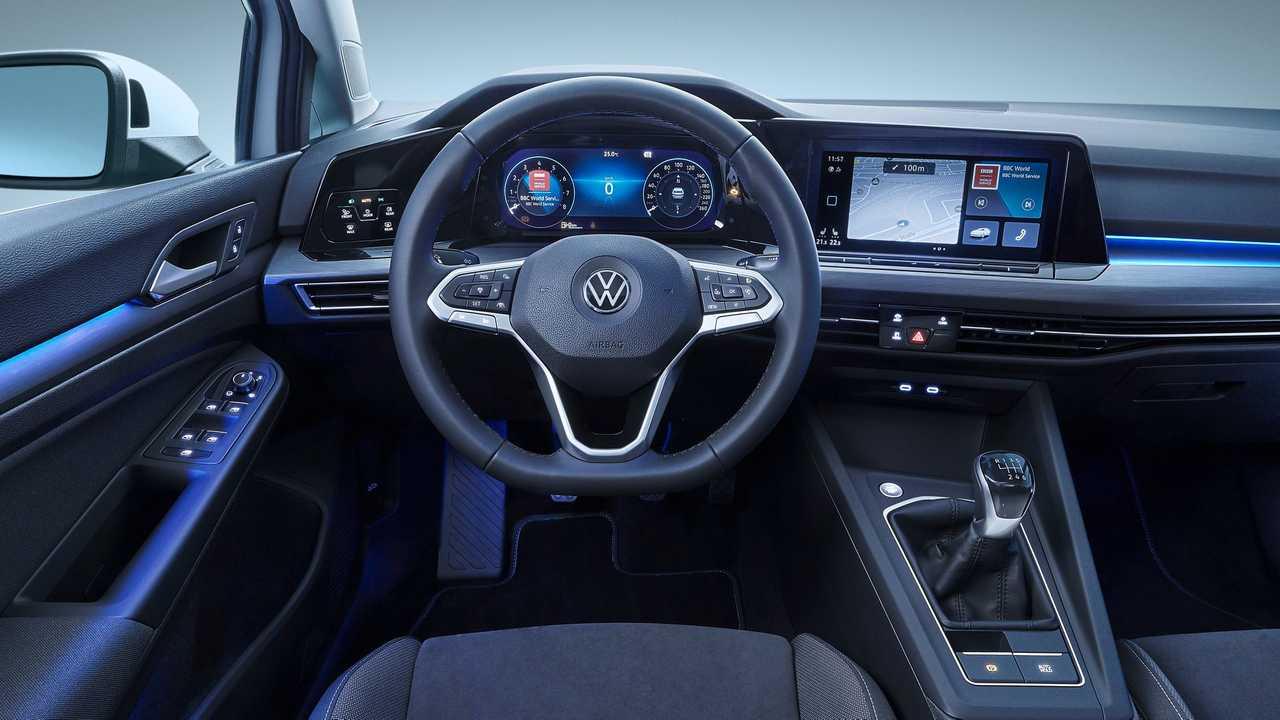 Volkswagen Golf 8 2020, il clima si comanda con la voce