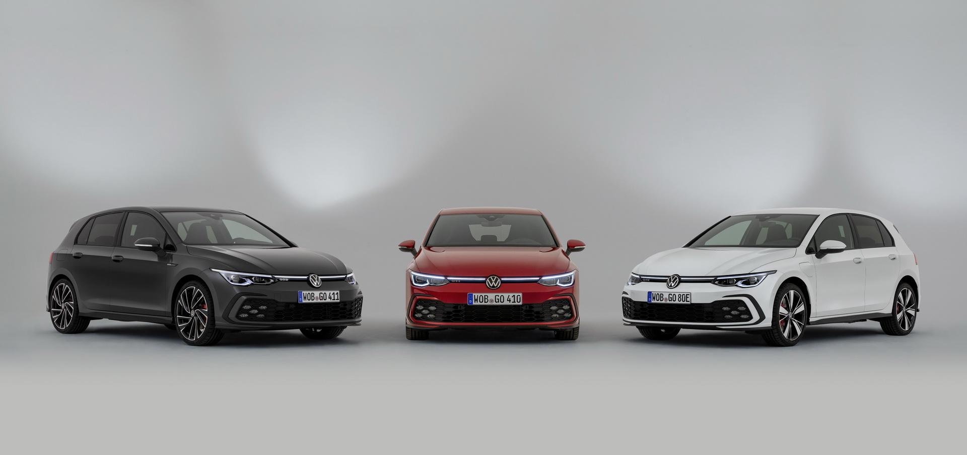 Nuova Volkswagen Golf 8, GTI, GTE, GTD i dati tecnici in anteprima