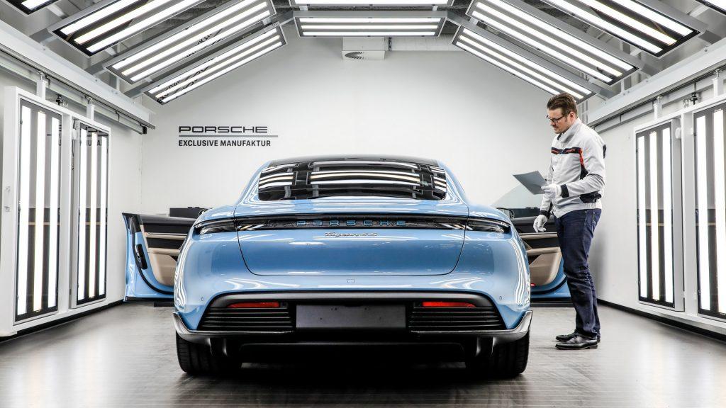 Porsche lavora al suono perfetto per le Auto elettriche