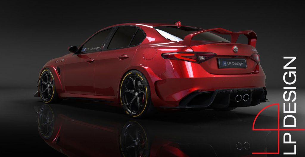Nuova Alfa Romeo GTA 2020, il Rendering in anteprima