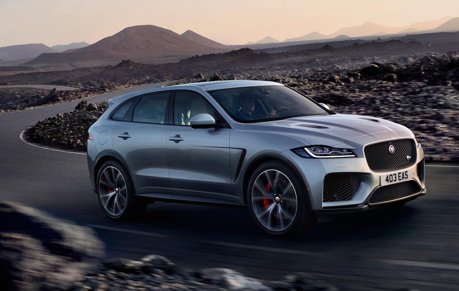 Nuova Jaguar F-Pace 2020, il SUV in anteprima
