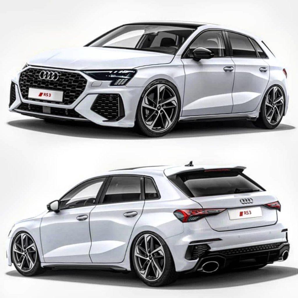 Nuova Audi A3 RS3 2020, design e dati tecnici in anteprima ...