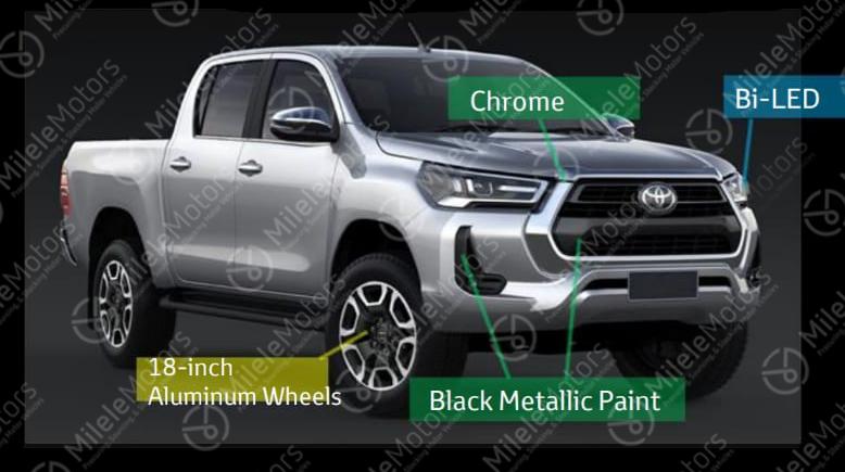 Nuovo Toyota Hilux 2021, il Pickup in Anteprima