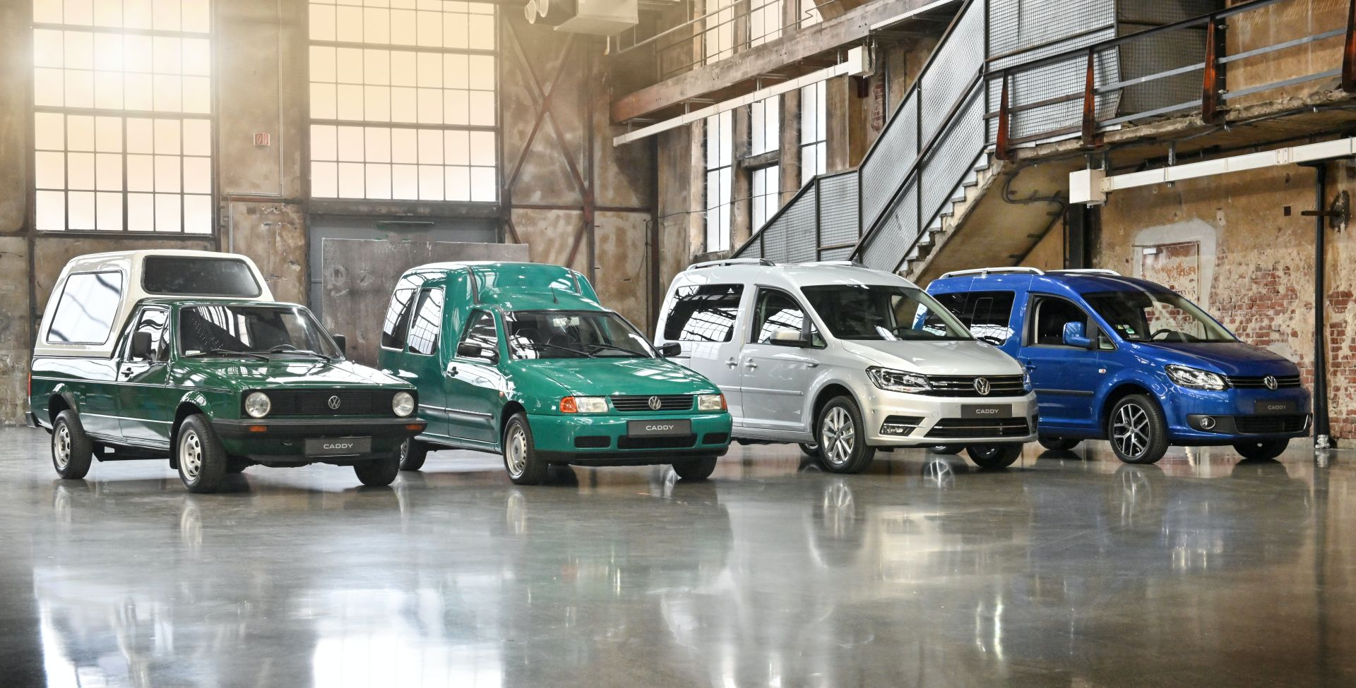 VOLKSWAGEN-Caddy-2020 STORIA VW CADDY