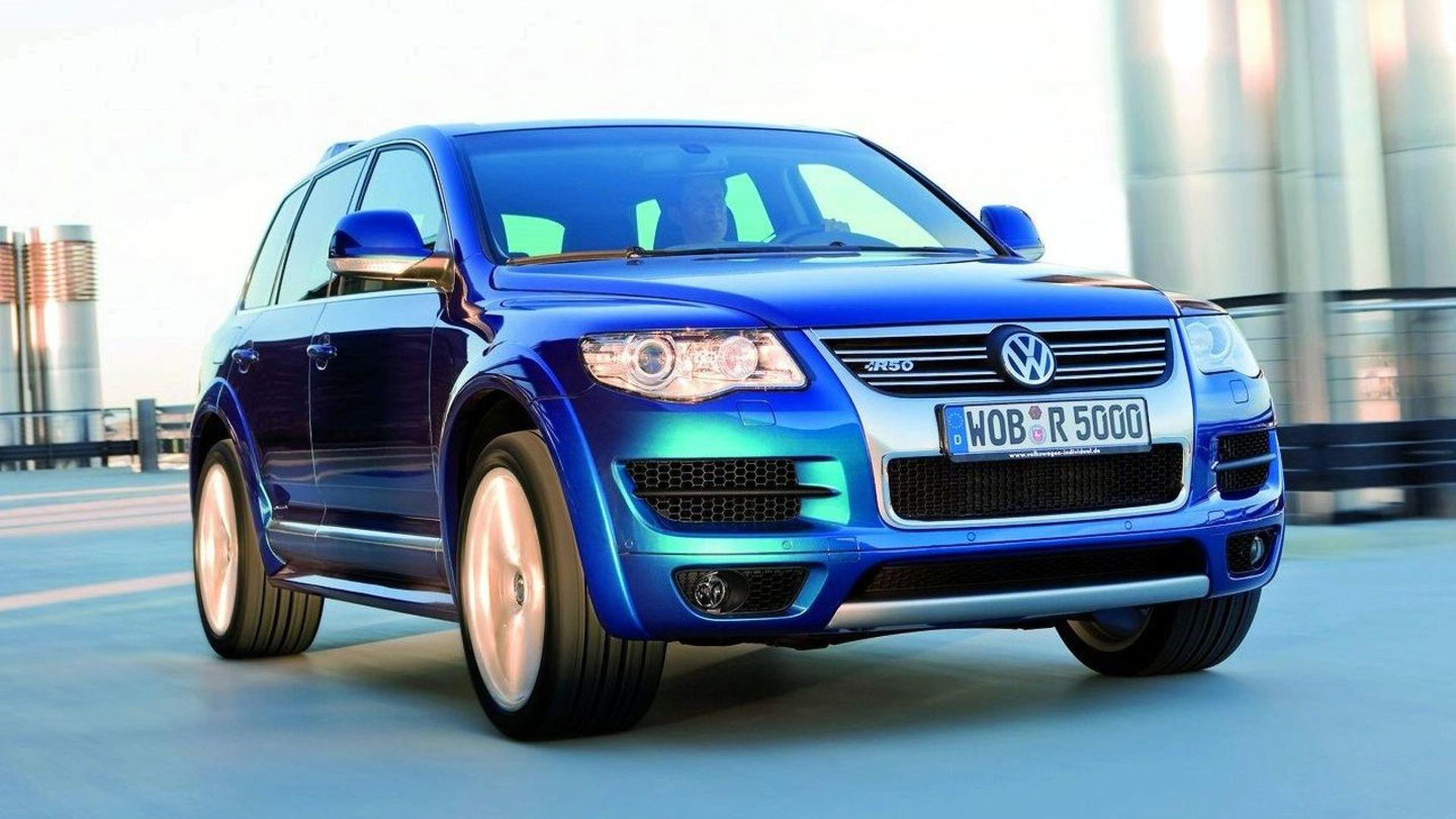 Volkswagen Tuareg R50 il mostro da 350 CV!