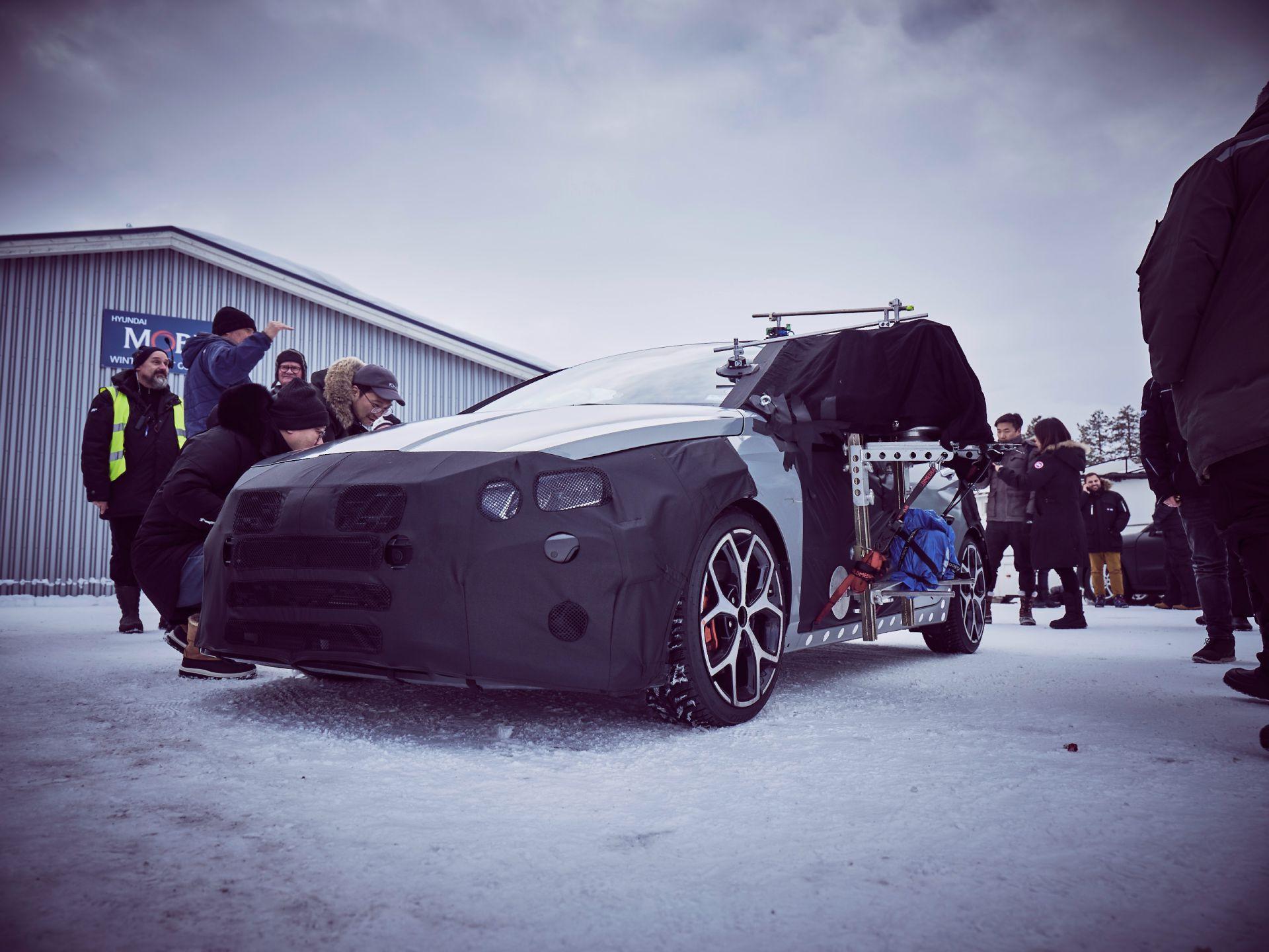 Nuova Hyundai i20 N, in Svezia con il WRC