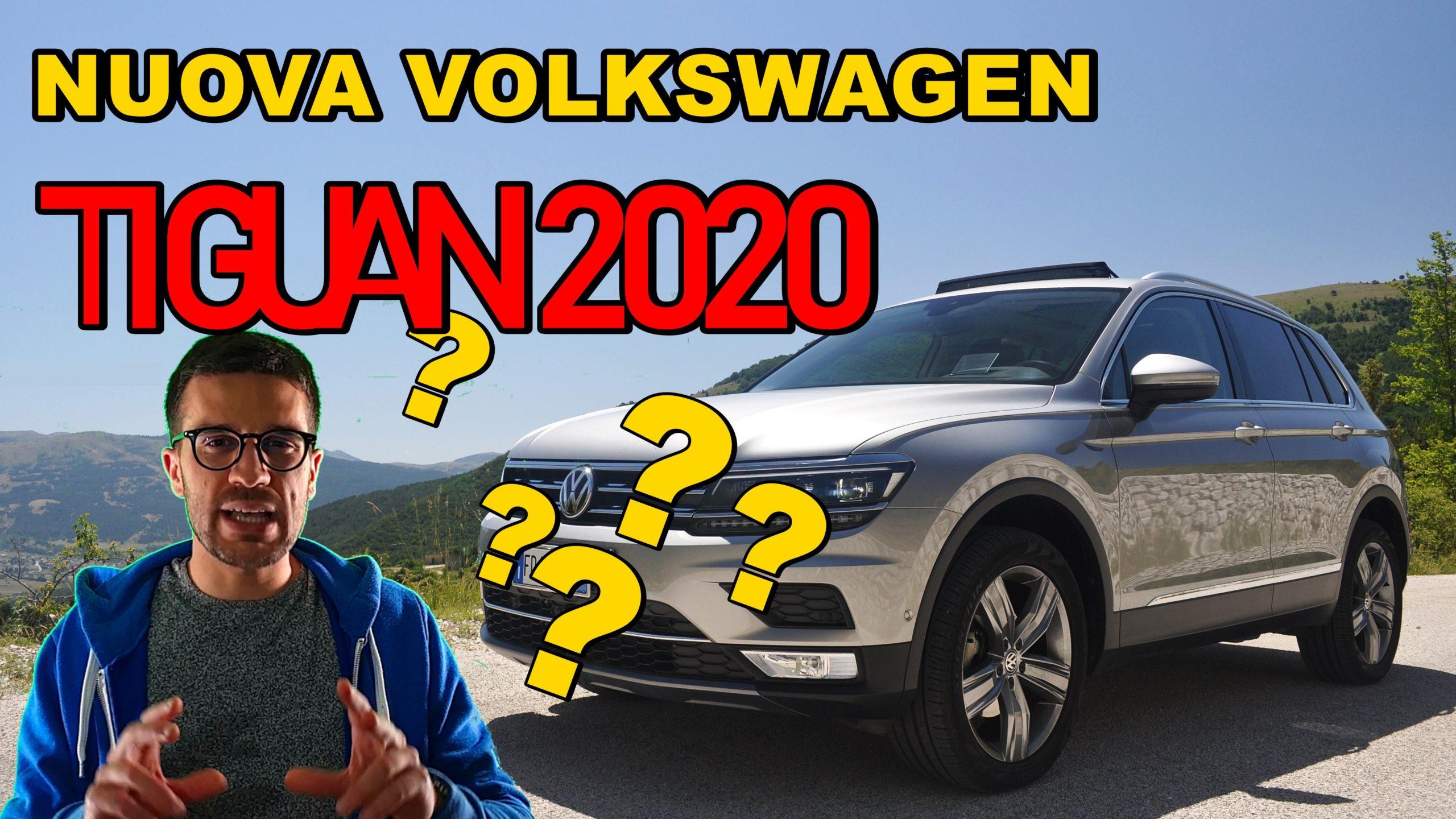 La nuova Volkswagen Tiguan 2020, storia della Bestseller VIDEO