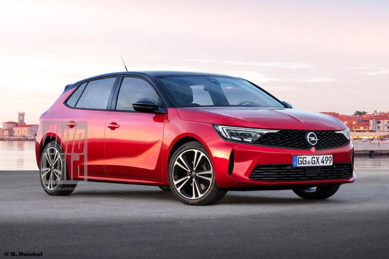 Nuova Opel Astra 2021, il Rendering del primo modello PSA