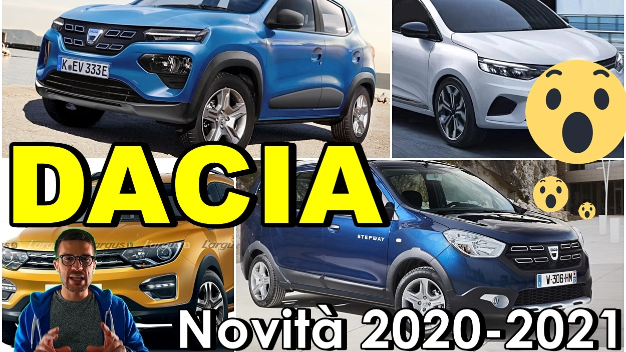 Dacia i dettagli sulle nuove Logan, Sandero e Lodgy e Spring [VIDEO]
