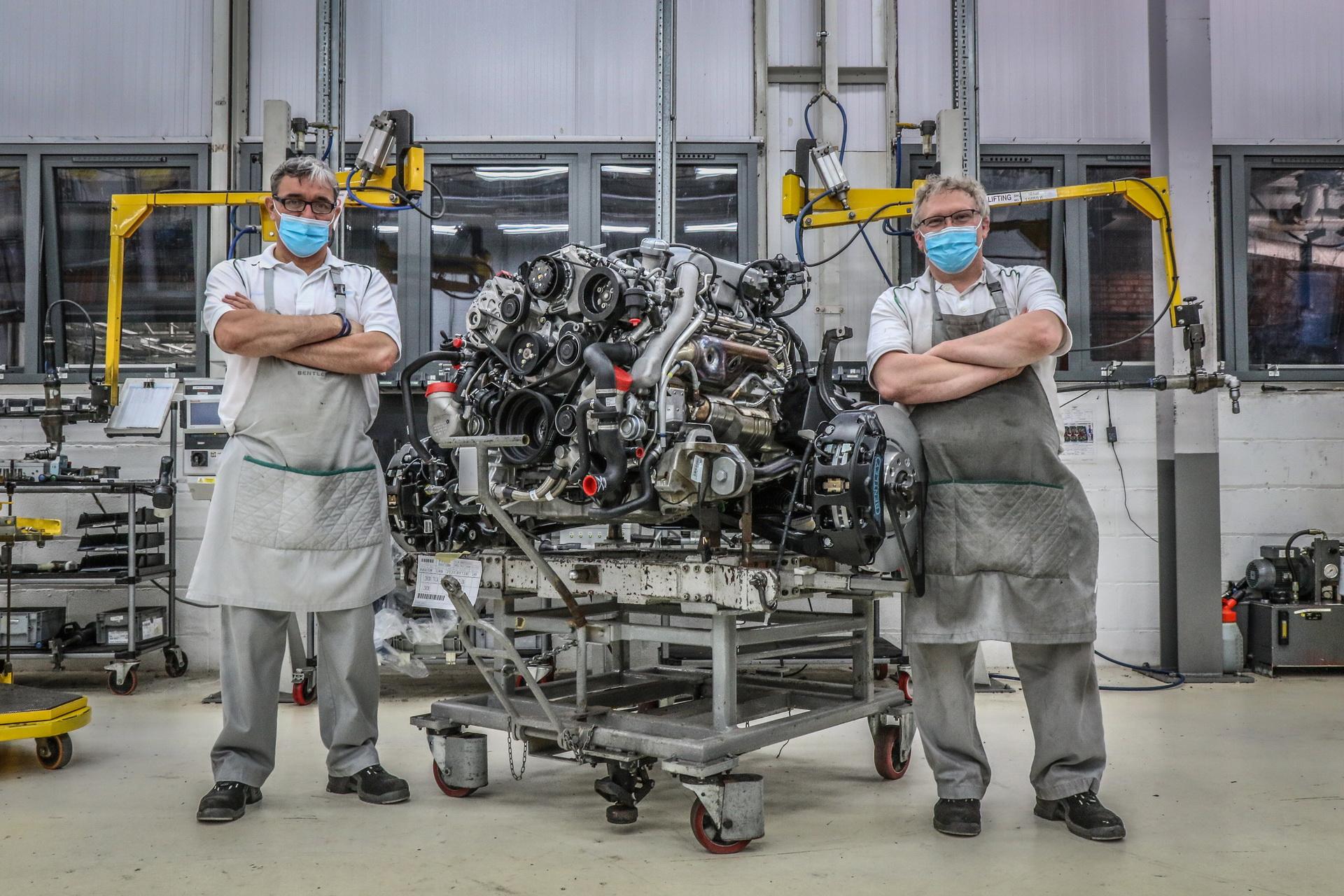 Bentley termina la produzione del V8 dopo 60 anni