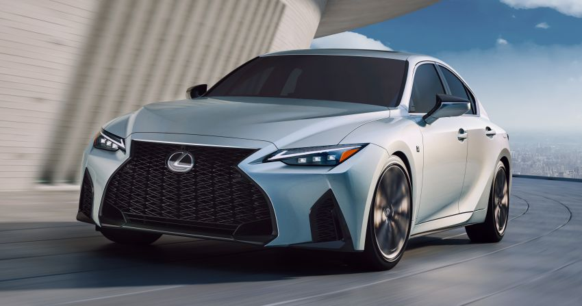 nuova lexus is 500 2021 sfida a mercedes amg  autoproveit
