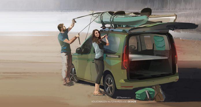 Volkswagen Caddy Beach 2021, arriva il mini Camper