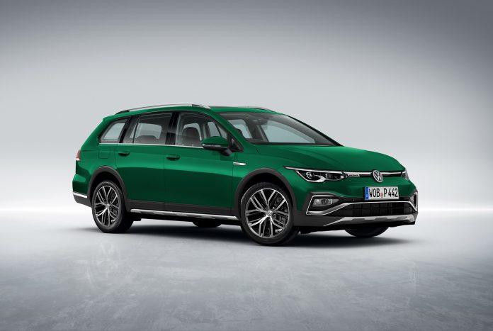 Nuova Volkswagen Golf 8 Alltrack 2021, il Rendering in Anteprima