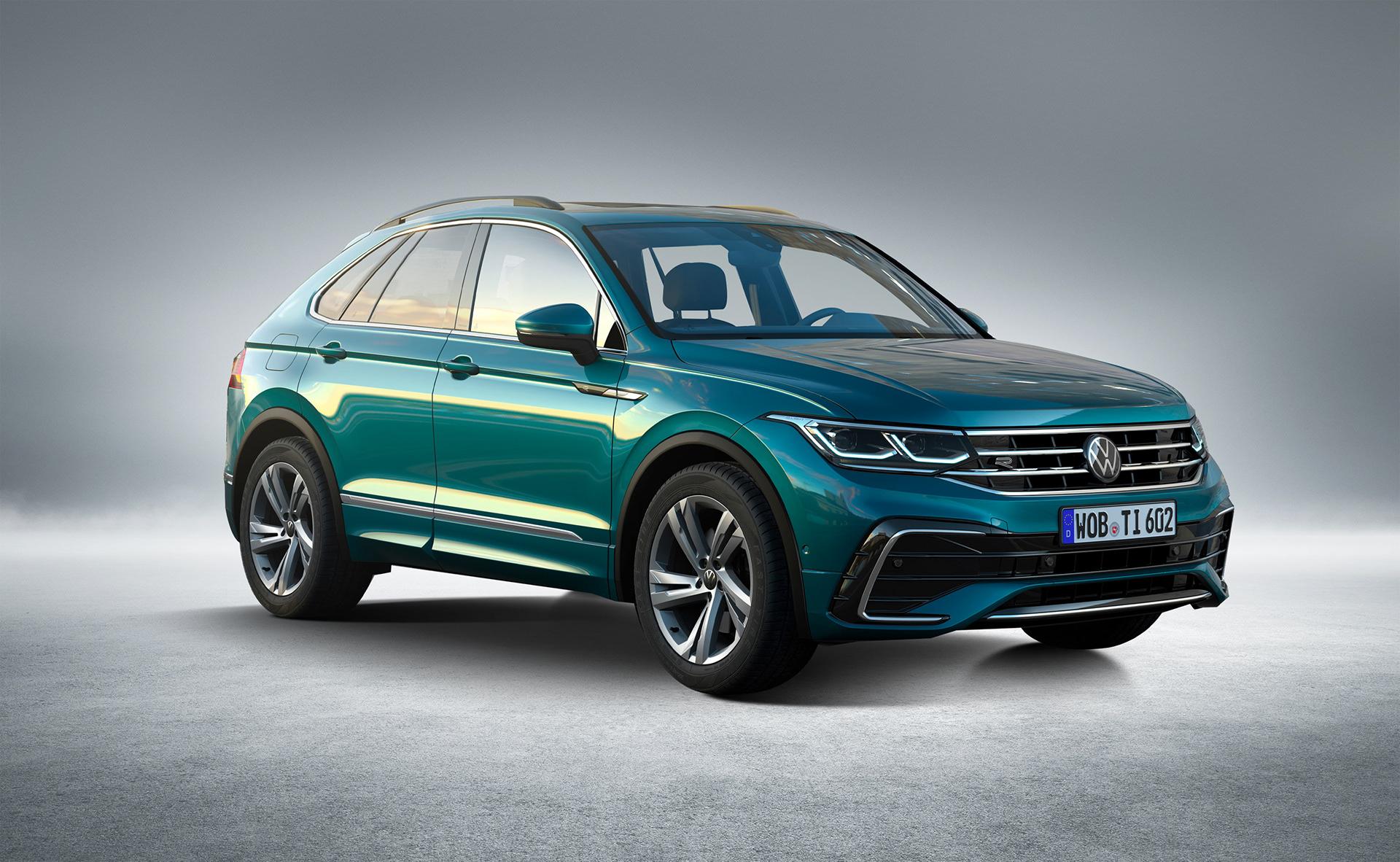 Nuova Volkswagen Tiguan 2021, il Rendering della Coupé ...