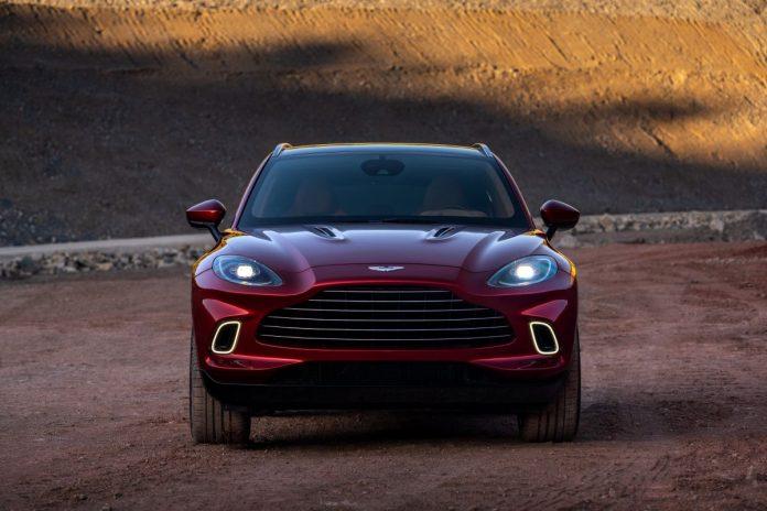 Aston Martin DBX avvia la produzione in Galles