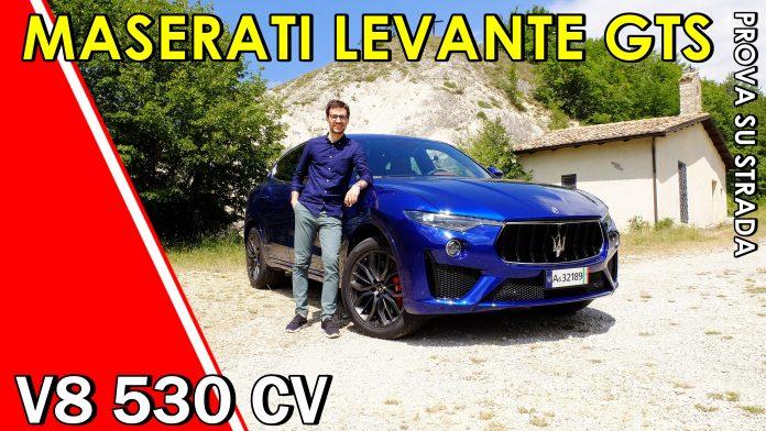 Maserati Levante GTS V8 3.8 530 CV, il VIDEO Test Drive