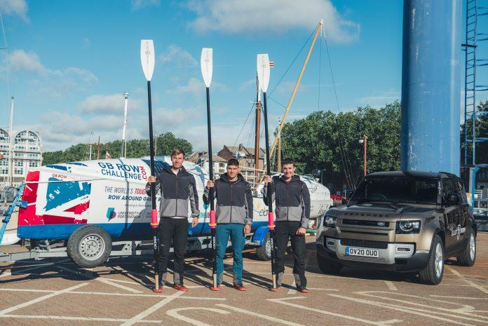 Land Rover e gli orologi Elliot Brown insieme per i vogatori della Croce Rossa