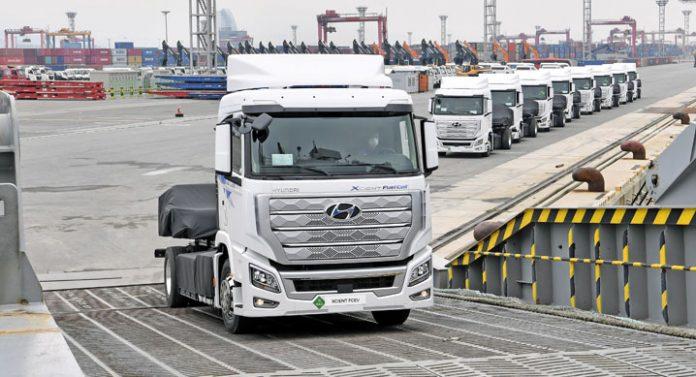 Hyundai XCIENT Fuel Cell 2021, il camion ad Idrogeno per l'Europa