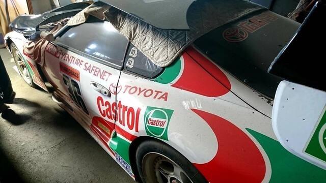 In Giappone il restauro della Toyota Supra Castrol Racing