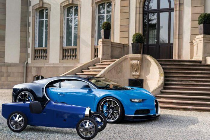 Bugatti Baby II, l'auto per bimbi da 58.000 euro