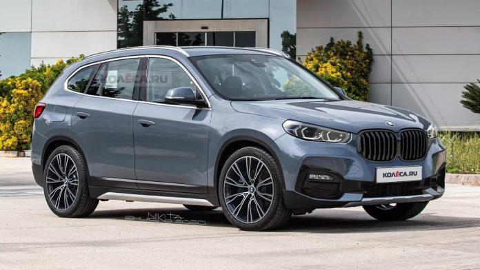 Nuova BMW X1 2021, il Rendering del Design in Anteprima