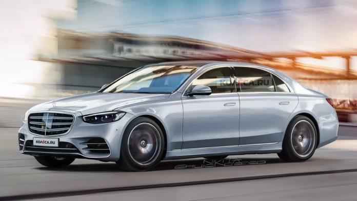 Nuova Mercedes-Benz Classe S 2021, il Rendering Definitivo