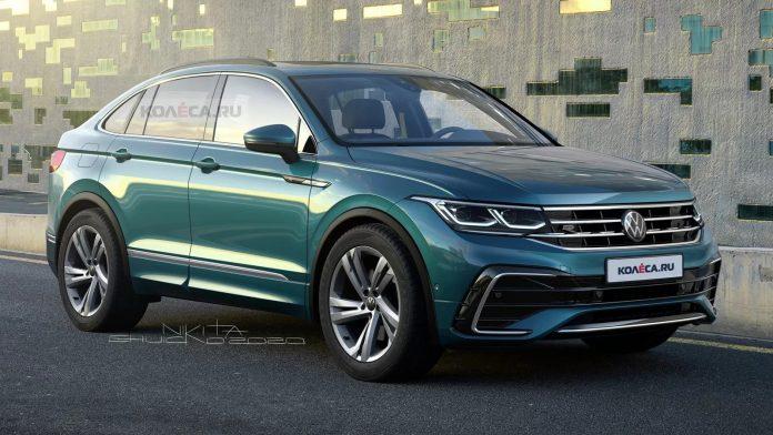 Nuova Volkswagen Tiguan Coupé 2021, il Rendering della X