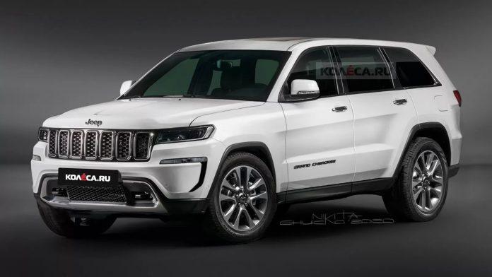 Nuova Jeep Grand Cherokee 2021, il Rendering in Anteprima esclusiva