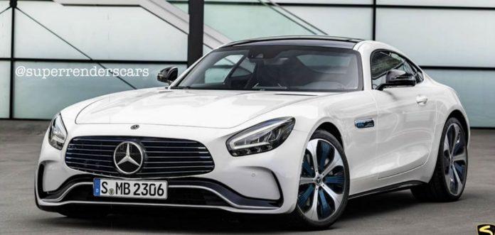 Mercedes-Benz AMG GT Electric Drive 2021, la Supercar elettrica