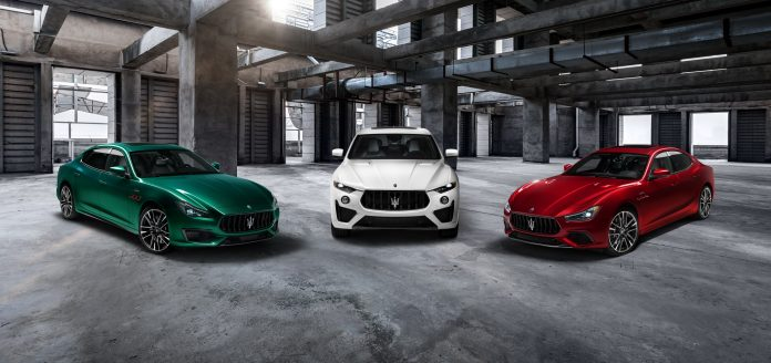 Maserati Trofeo 2021, tutto sulle nuove Ghibli, Levante e Quattroporte