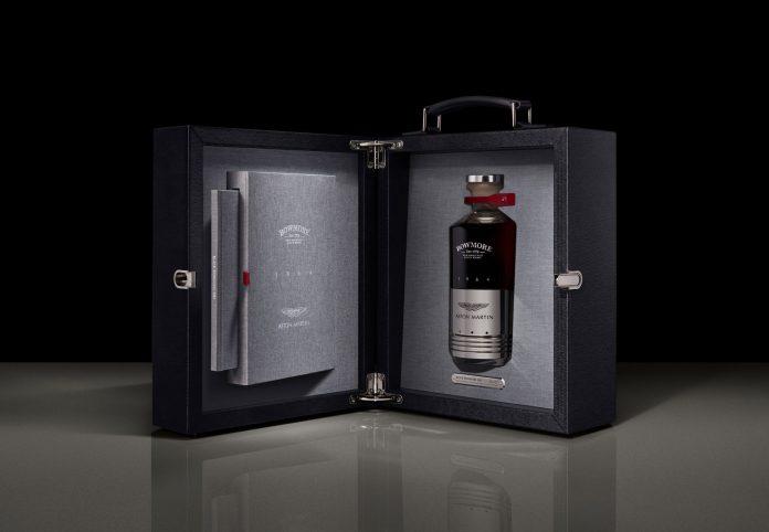 Aston Martin: il Whisky del 1964 in un cilindro della DB5