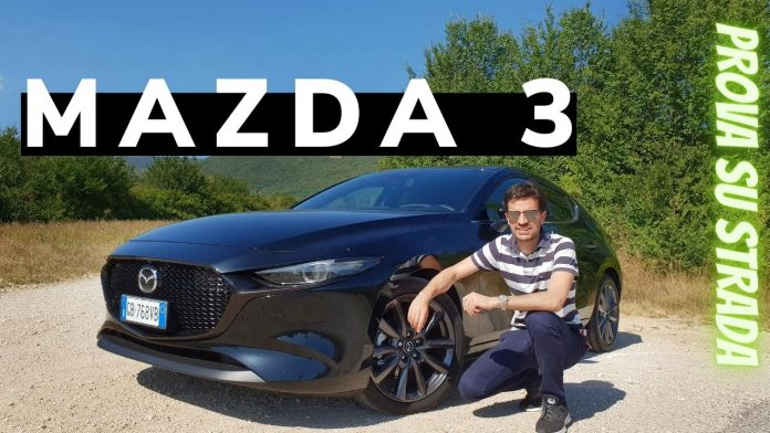 Mazda 3 Skyactive G 2.0 Hybrid 150 CV Exclusive, il Video TEST DRIVE