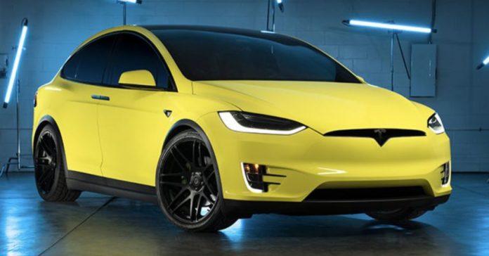 Car Wrapping, Tesla pronta al lancio in Cina