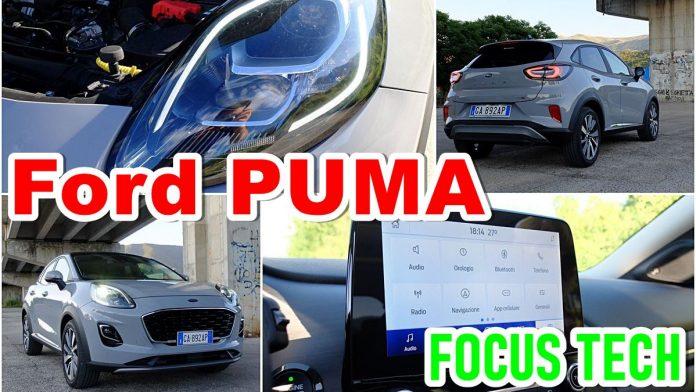 Ford Puma 2020, FOCUS TECH, Infotainment, ADAS [VIDEO]