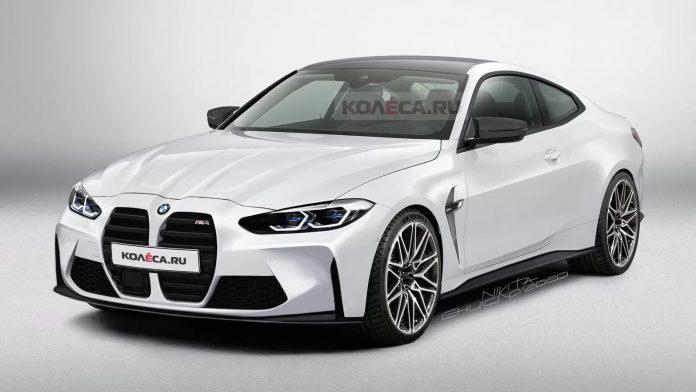 Nuova BMW M4 2021, Rendering e uscita in Anteprima