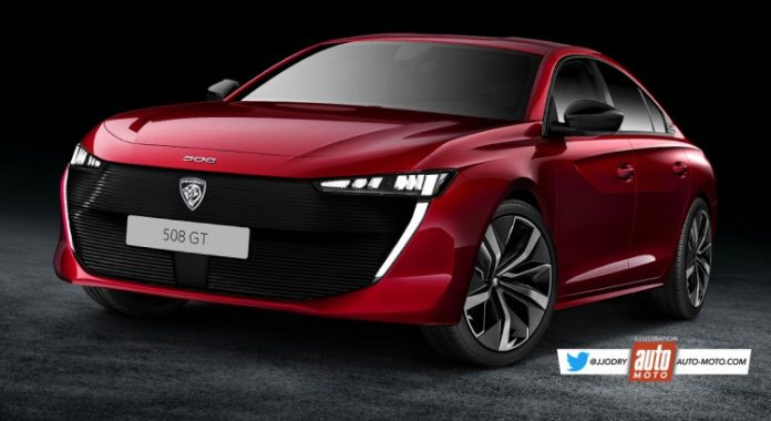 Nuova Peugeot 508 2021, il Restyling nel Rendering in Anteprima
