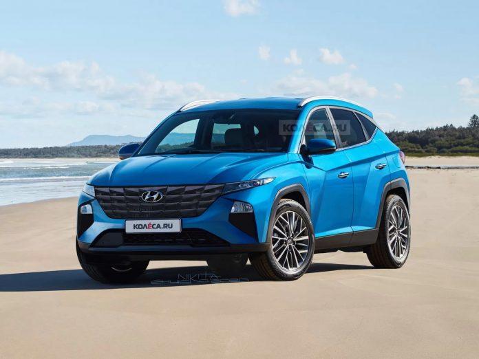 Nuova Hyundai Tucson 2021, il Rendering Definitivo