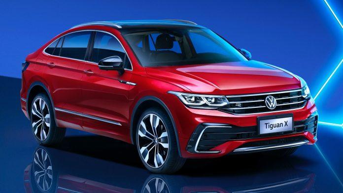 Nuova Volkswagen Tiguan X 2021, dalla Cina il design definitivo