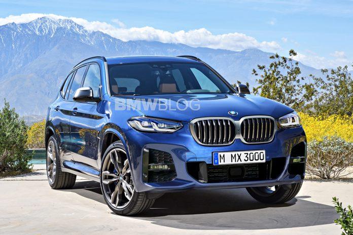 Nuova BMW X3 2021, il Restyling del SUV nel Rendering in Anteprima