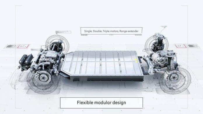 Geely presenta il primo pianale Open Source per l'Auto Elettrica